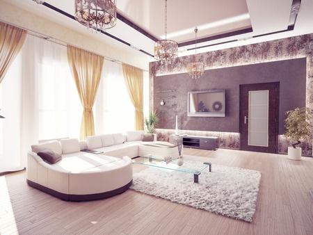 שילוב פרקט וגבס בשיפוץ דירה